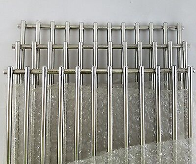 Set of 3 BBQ Factory Replacement Stainless Steel Cooking Grid Grill Grate NEW