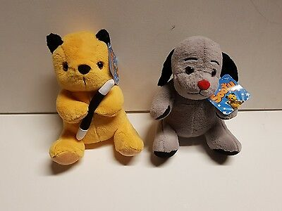 """11"""" Sooty and Sweep Soft toys"""