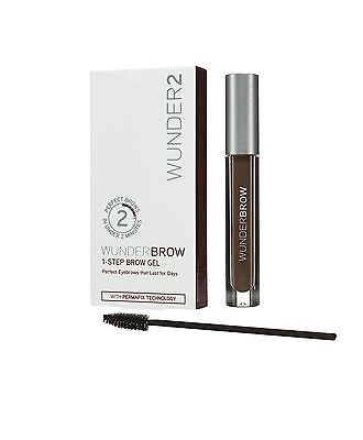 Wunder2 WunderBrow 1-step brow gel for Perfect Eyebrows Black/Brown