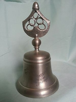 Crown And Rose Collectible Pewter Bells 12 Days Of Christmas