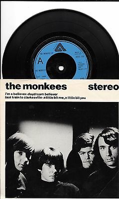 THE MONKEES - Daydream Believer - 4 Track EP - ARIST 326 - PS - EX