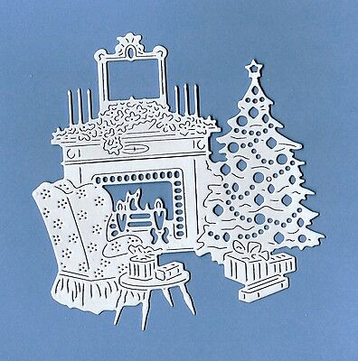 6 Tattered Lace ~ Art Deco Christmas Home ~ Die Cuts