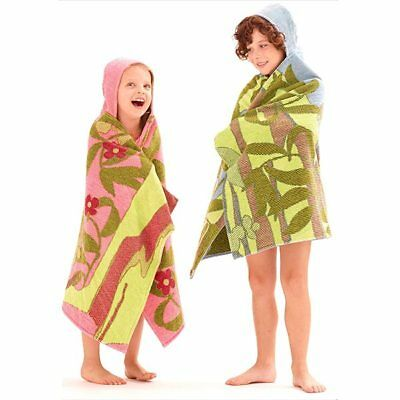 New  Hooded Wrap – Jungle Orange