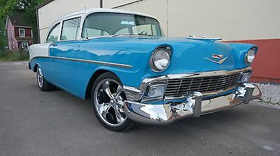 1956 Chevrolet Bel Air/150/210 BEL AIR 383 AUTOMATIC COLD AIR CONDITIONING NEW TRIM POWER DISC BRAKES VIDEO MAKE OFFER