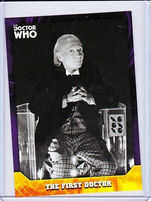 Doctor Who Signature Series Trading Cards Purple Parallel Base Card Selection