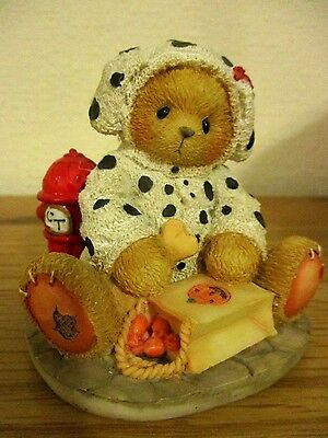"""Cherished Teddies """"Andy"""" New In Box!! Dalmatian Outfit!!"""
