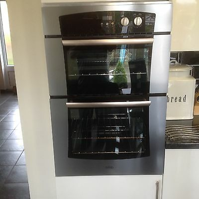 Built in double gas oven