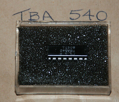 New Old Stock Components - Integrated Circuit Tba540 Quantity 1