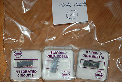 New Old Stock Components - Integrated Circuit Tba120S Quantity 1