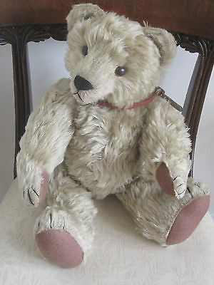 SUPERB traditionai hump back VINTAGE TEDDY BEAR 21in German style poss SUE QUINN