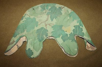Original Vietnam War U.S. Army Camo M-1 Helmet Cover, Two Sided, 67' Dated