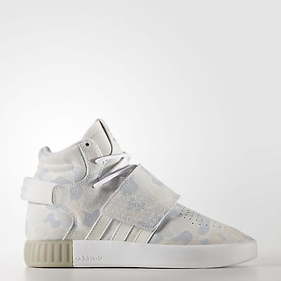 adidas Tubular Invader Strap Shoes Kids' White