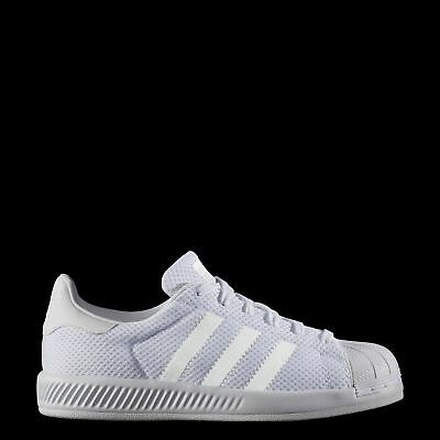 New adidas Originals Superstar Bounce Shoes BY1589 Kids' White Sneakers