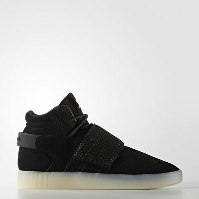adidas Tubular Invader Strap Shoes Men's Black