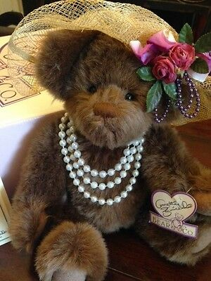 "Annette Funicello Collectible Bear ""pearl"""