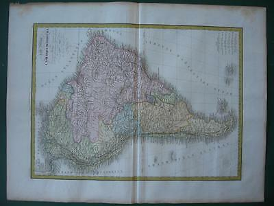 1828-9 - LAPIE - 5 Maps SOUTH AMERICA and COLOMBIA BRAZIL PERU CHILE ARGENTINA
