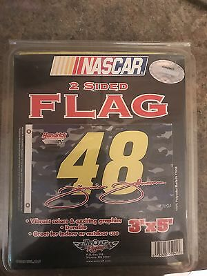Jimmie Johnson # 48 3' x 5' Flag! Brand New! NASCAR