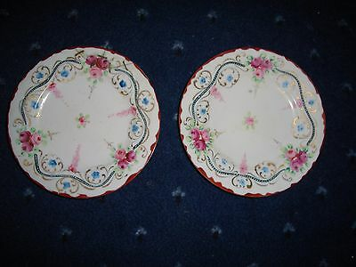 Antique Japanese Hand painted Plates