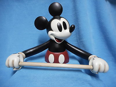 RARE Disney Mickey Mouse Paper Towel Holder Wall Mount