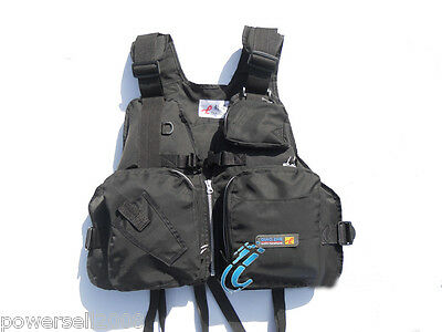 LQX098 Collapsible Professional Multi-function Life jacket/Fishing vest