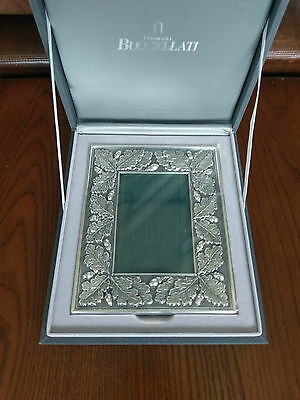 Buccellati Sterling Silver Picture Frame 5 x 3 Photo