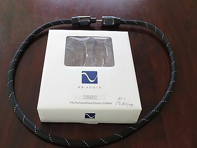 PS Audio PerfectWave AC3 Power Cable; 1.5m AC Cord With Box Excellent!
