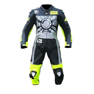 Vr 46 2015 Motorcycle Motorbike Racing Leather Suit All Size Available