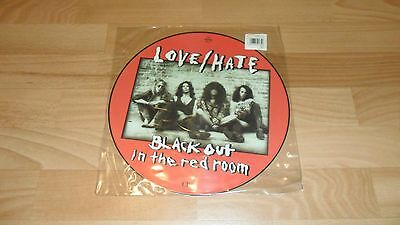 "Love/hate - Blackout In The Red Room (Rare Picture Disc 12"" Vinyl)"