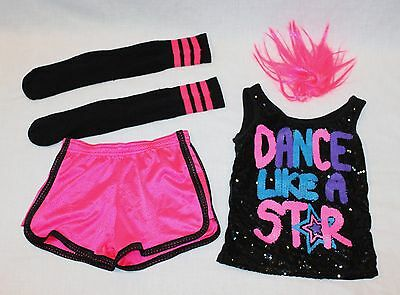 Balera Hip Hop Jazz Dance Costume 5 Piece Child Medium CM
