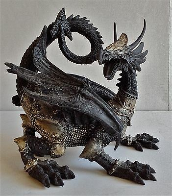 DRAGON RESIN FIGURINE STEAMPUNK  COLLECTIBLE Game of Thrones