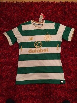 Celtic Home Shirt 17/18 New Balance 2017 /2018 Large Top