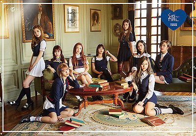 TWICE [SIGNAL] 4th Mini Album A Ver Original Official Bromide FOLDED POSTER ONLY
