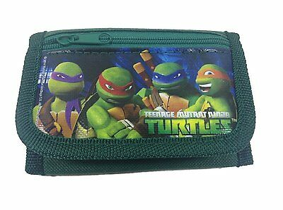 Nickelodeon Teenage Mutant Ninja Turtles (TMNT) Green Trifold Wallet