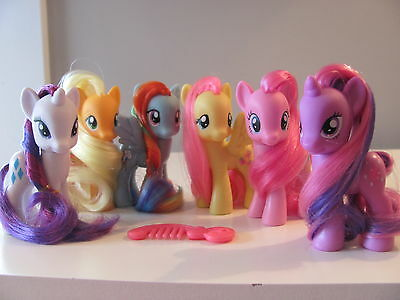 My Little Pony Friendship is Magic lot ~ 6 G4 My Little Ponies ~ NICE!