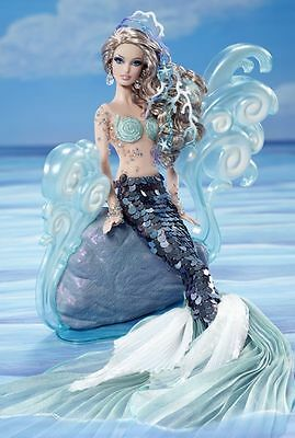 The Mermaid BARBIE Fantasy Doll 2012 GOLD LABEL unopened Shipper W3427 NIB NRFB