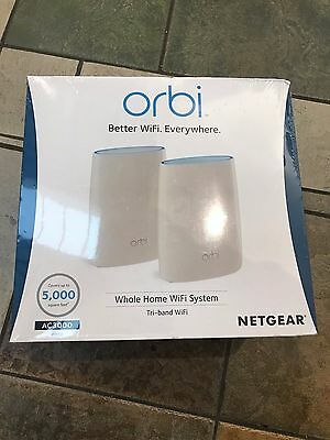 Netgear Orbi Home AC3000 Tri-Band Router WiFi System - RBK50 - NEW SEALED