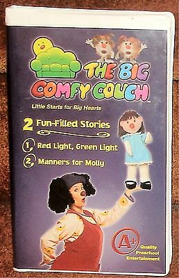 The Big Comfy Couch - Red Light, Green Light / Manners For Molly 2004 - Vhs Tape