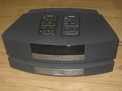 MINT BOSE Wave Music System w/ Multi-CD Changer & 2 Remote