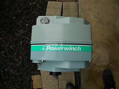 NOS Powerwinch Model 315 electric boat trailer winch