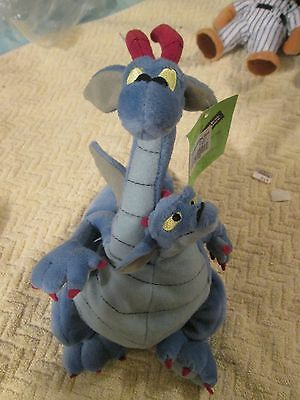 Devon Cornwell Dragon Warner Brothers Quest For Camelot Plush Beanbag New Tags