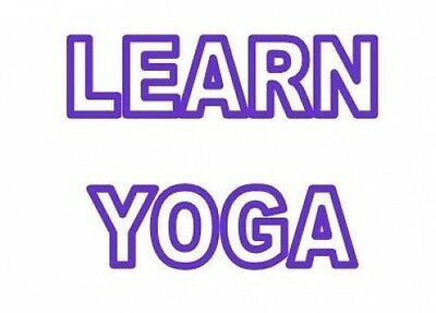 Complete YOGA DVD Video & CD Training Course Ease Stress For Self Improvement