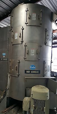 GALA 48.5 DW SPIN DRYER 25 HP motor recent refurb new lifters and screens