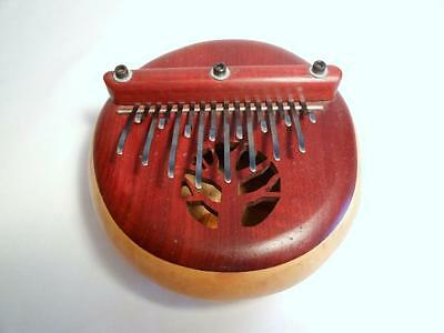 16 Note Kalimba African Thumb Piano Finger Harp C Pentatonic Beautifully Carved
