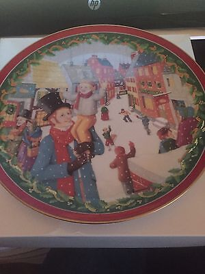 Dickens Village Decorative Plate The Heritage Village Collection