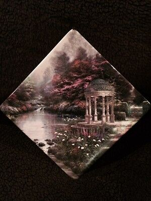Thomas Kinkade Collector Plate The Garden of Prayer - 2005 The Bradford Exchange