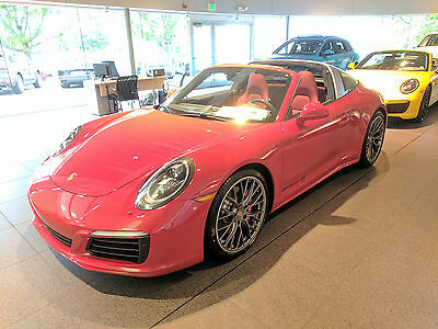 2017 Porsche 911 Targa 4S Over The Top List of Options-The Nicest, Most Expensive 4S Targa Available-24 Mi