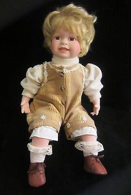 Duck House Bisque Head Arms & Legs Blonde Baby Doll  Limited Edition 2598/5000