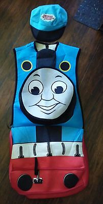 Thomas the Train Halloween Kids Costume with Conductor Hat