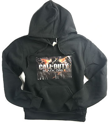 New Boys Call Of Duty Black Hoodie Jumper Top Size 8-16