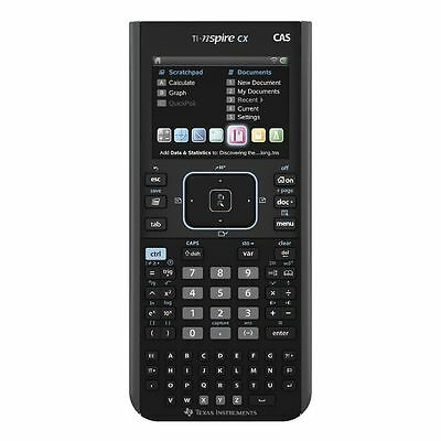 NEW Texas Instruments Nspire CX CAS Graphing Calculator FREE EXPRESS POSTAGE!